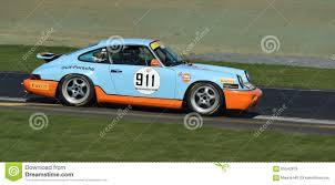 gulf porsche 911 porsche 911 rs gulf racing editorial stock image image 80627814