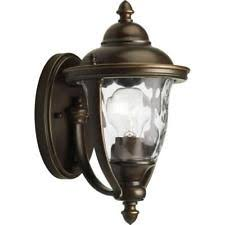 aluminum hampton bay outdoor lighting equipment ebay