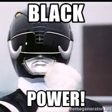 Power Rangers Meme Generator - black power ranger meme generator