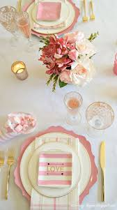 best 25 pink table settings ideas on pinterest pink dinner set