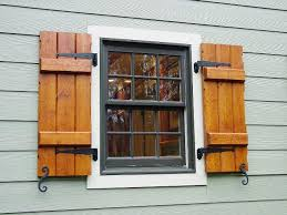 exterior wood shutters decorative provide privacy safety