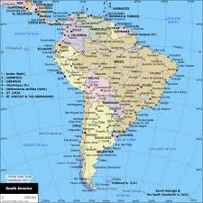 south america map atlas map of cities in south america south america planetolog