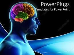 templates for powerpoint brain brain powerpoint template powerpoint template displaying blue and