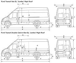 2008 ford transit van blueprints free outlines