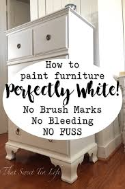 what is the best way to paint wood kitchen cabinets painting white furniture the best no fail method that