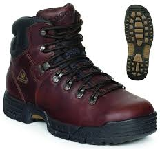 rocky men u0027s work mobilite steel toe waterproof leather work