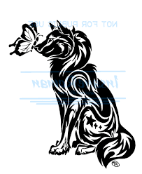 tribal paw print timber wolf paw print clipart clipart kid