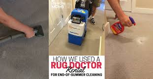 Rug Dr Rental Price How We Used A Rug Doctor Rental For End Of Summer Cleaning