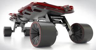 bmw longboard raptor un skateboard by alfa romeo design by andrea mangano