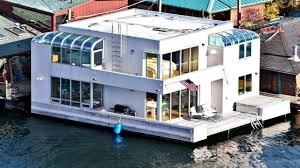 Friday Floatwing by Modern Sophisticated Innovative Design Stunning Houseboat Small