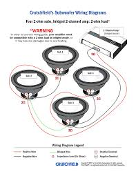 4 ohm dual voice coil subwoofer wiring diagram 94 on