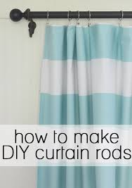 Diy Cheap Curtains How To Make Your Own Diy Curtain Rods