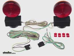 maxxtow magnetic tow lights installation etrailer
