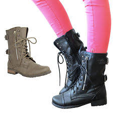 ladies brown biker boots womens biker boots ebay