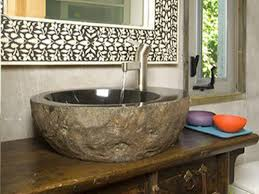 Is A Stone Sink Right For Your Kitchen DIY - Kitchen sink in bathroom