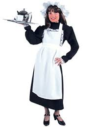 Maid Costumes Halloween Deluxe Child Victorian Maid Costume 206015 Fancy Dress Ball
