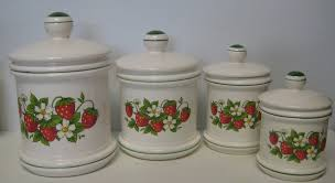 28 country kitchen canisters set of 4 white country french