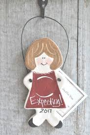 baby shower expectant parents gift salt dough ornament products