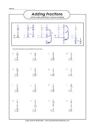 super teacher worksheets fractions fraction worksheetsbasic