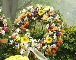 funeral flower flower terminology