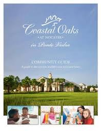 coastal oaks at nocatee area guide by toll brothers inc issuu
