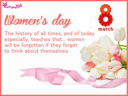 happy international womens day wishes and greetings message card