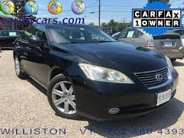 lexus coupe 2006 used 2007 lexus es 350 sedan for sale burlington vt stock 015922