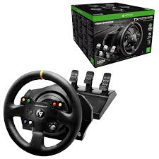 xbox one racing wheel thrustmaster tx racing wheel leather edition with t3pa pedals for