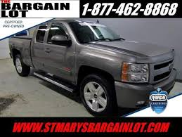 Used 2008 Chevrolet Silverado 1500 by New And Used Chevrolet Vehicles St Marys Chevrolet