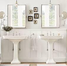 Top  Best Pedestal Sink Bathroom Ideas On Pinterest Pedistal - Bathroom sink mirror