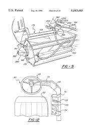 patent us5553445 riding mower with swingout center mower head