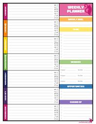 printable hourly planner 2016 printable weekly planner free printable weekly planner template