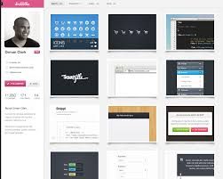 dribbble dribbble profile redesign by janvanlysebettens on deviantart