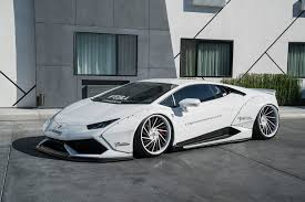 all white lamborghini white liberty walk lamborghini huracan on forgiato wheels gtspirit