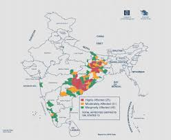 South India Map by India Maoist Conflict Map 2017 South Asia Terrorism Portal