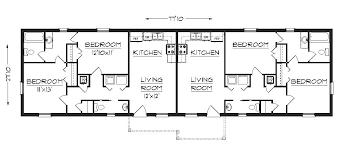 duplex house plan j1617d