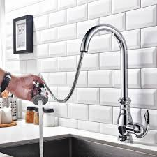 gooseneck kitchen faucet with pull out spray gallery bar faucets gooseneck kitchen faucet with pull out spray trends and traditional goose neck one hole picture