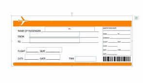 Free Boarding Pass Template 16 real boarding pass templates 100 free template lab