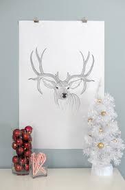 alice and loisbig reindeer free printable