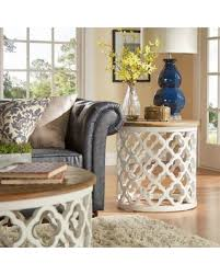 Quatrefoil Table L New Savings On Verona Home Tansey Reclaimed Wood Quatrefoil Accent