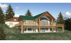 hillside house plans for sloping lots apartments front walkout basement sloping lot house plans sloped