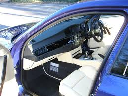 bmw blue interior bmw individual velvet blue chagne piano black 5series