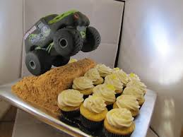 grave digger monster truck theme song tj happy cakes grave digger monster truck cupcake jump