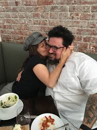 chef bruce kalman and actor gentry white the dinner party
