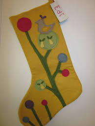 wool felt christmas stockings craft sewing rooms pinterest