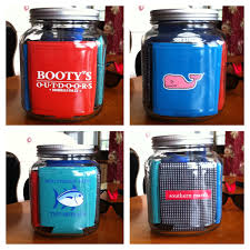 use a storage jar to display your koozies i u0027d need 20 of these