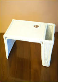 bed tray table walmart breakfast in bed tray with cup holder home design ideas