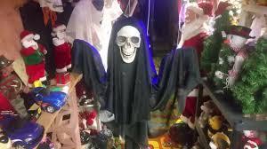 skeleton ghost mask halloween gemmy floating black skeleton ghost 2017 youtube