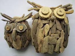 driftwood owl handmade wooden owl driftwood home decor owl