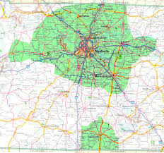 Nashville Zip Code Map by Enter Prefix